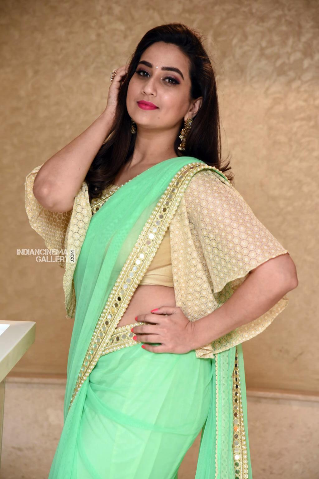 Manjusha at Suvarna Sundhari Movie Trailer Launch (8)