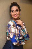 Manjusha at Meeku Maathrame Cheptha Movie Pre Release Event (15)