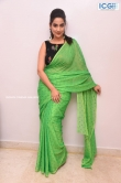Manjusha in green saree oct 2019 stills (17)