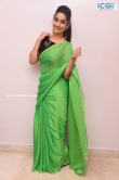 Manjusha in green saree oct 2019 stills (19)