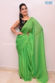 Manjusha in green saree oct 2019 stills (20)