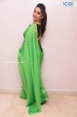 Manjusha in green saree oct 2019 stills (21)