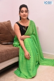 Manjusha in green saree oct 2019 stills (22)