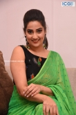 Manjusha in green saree oct 2019 stills (23)