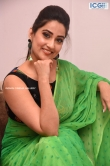 Manjusha in green saree oct 2019 stills (25)