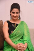 Manjusha in green saree oct 2019 stills (26)