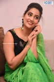Manjusha in green saree oct 2019 stills (27)