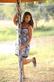 Meghana in trinetri movie (4)