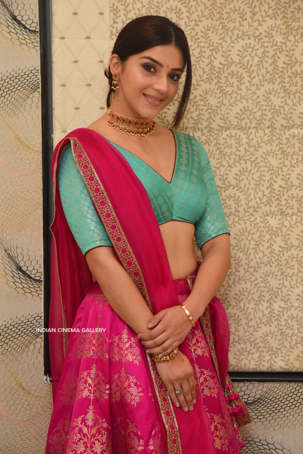 Mehreen Kaur Pirzada at Aswathama Movie Audio Launch (4)