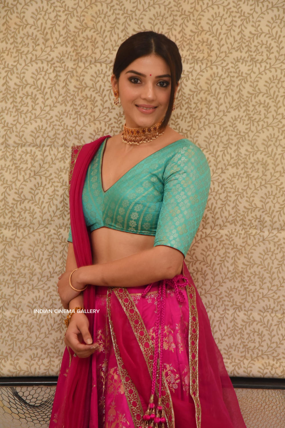 Mehreen Kaur Pirzada at Aswathama Movie Audio Launch (6)