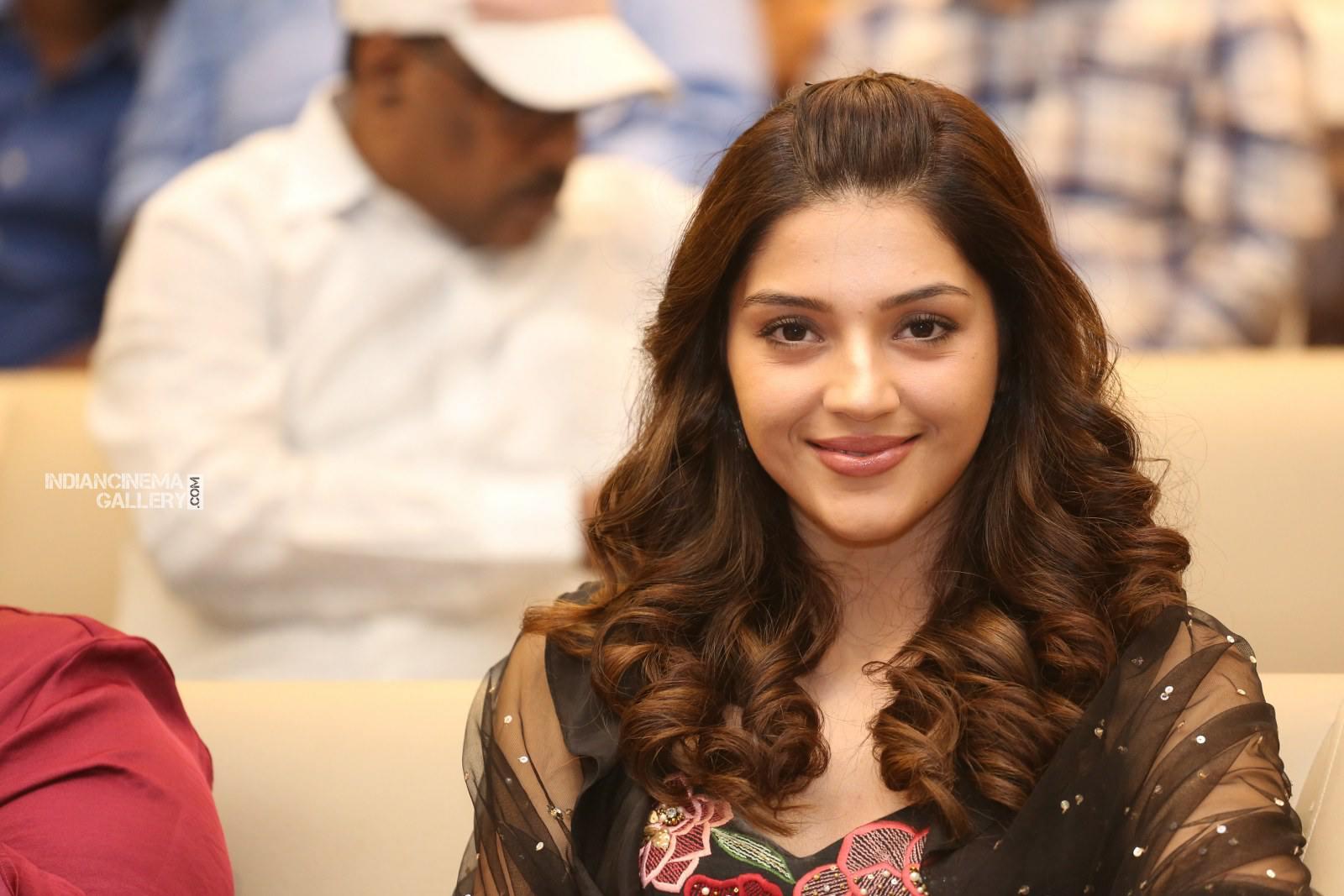 Mehrene Kaur Pirzada at kavacham movie trailer launch (17)
