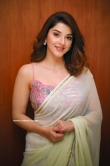 Mehreen Pirzada in saree dress (1)
