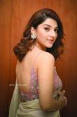 Mehreen Pirzada in saree dress (2)