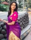 Nabha natesh in saree stills (4)