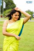 Nandita Swetha in green saree stills (4)