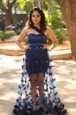 Nanditha swetha in blue dress stills (1)