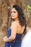 Nanditha swetha in blue dress stills (11)