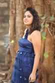 Nanditha swetha in blue dress stills (14)
