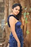 Nanditha swetha in blue dress stills (15)