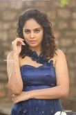 Nanditha swetha in blue dress stills (19)