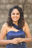 Nanditha swetha in blue dress stills (22)