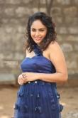 Nanditha swetha in blue dress stills (24)