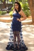 Nanditha swetha in blue dress stills (3)