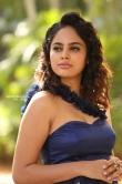 Nanditha swetha in blue dress stills (6)