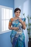 Neelima Rani in blue saree (1)