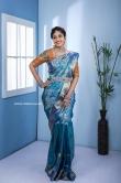 Neelima Rani in blue saree (2)