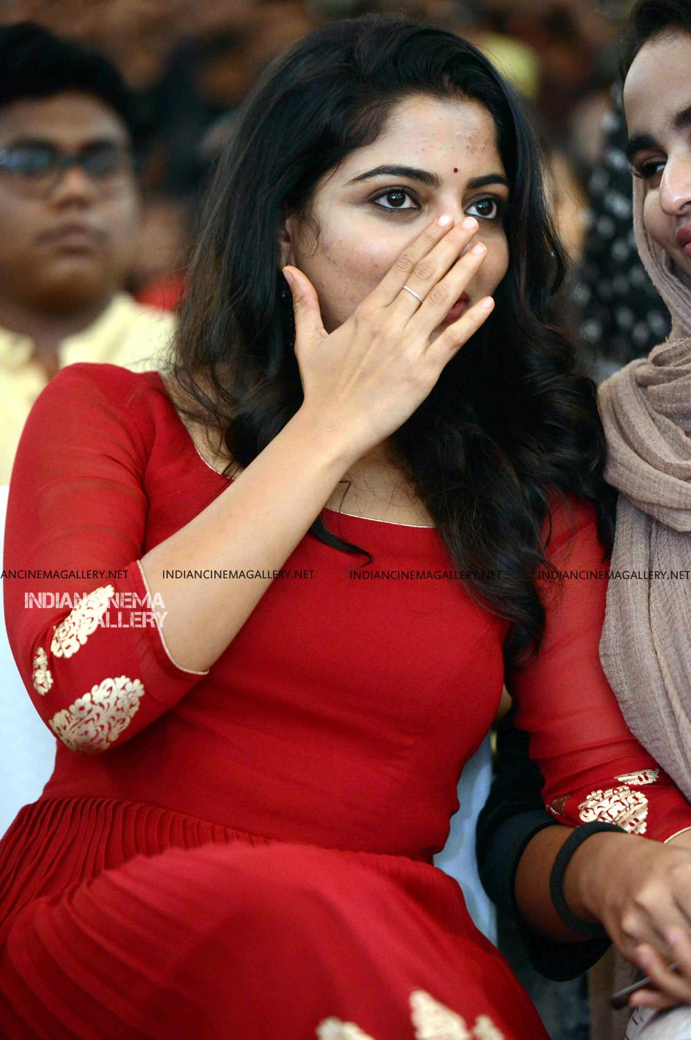 Nikhila Vimal at Mera Naam Shaji Audio Launch (12)