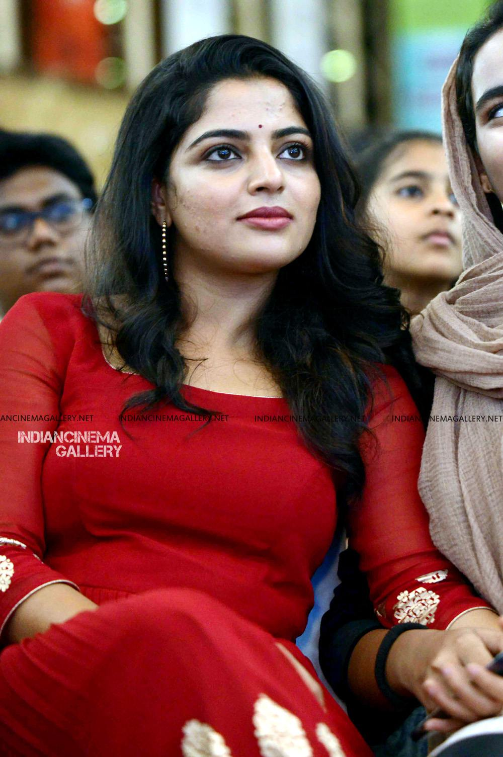 Nikhila Vimal at Mera Naam Shaji Audio Launch (15)