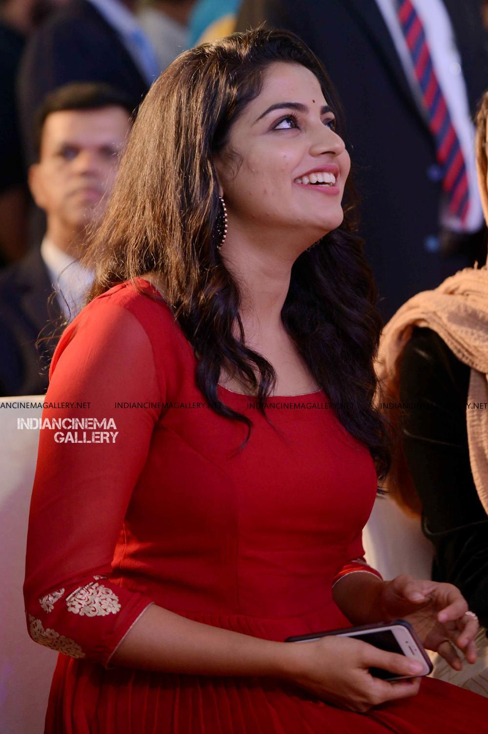 Nikhila Vimal at Mera Naam Shaji Audio Launch (3)