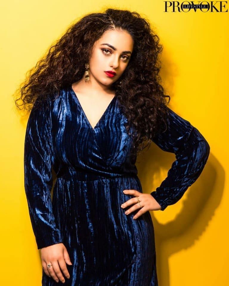 Nithya Menon in provoke magazine photo shoot stills (5)