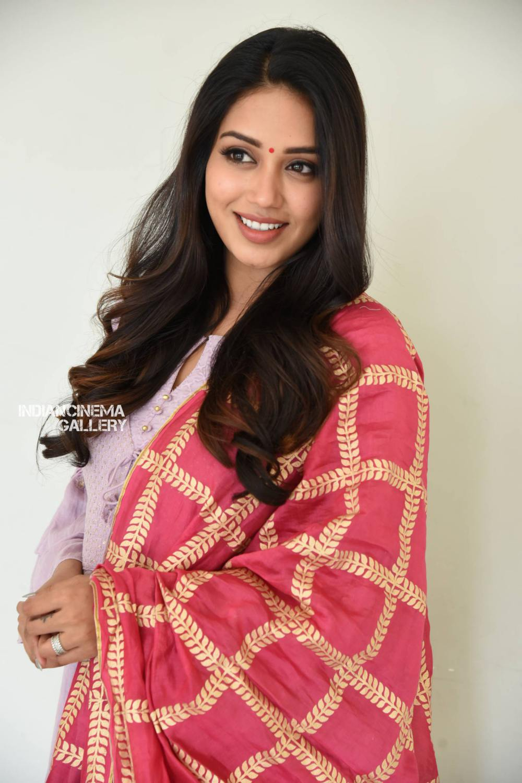 Nivetha Pethuraj at ChitraLahari Teaser Launch (10)
