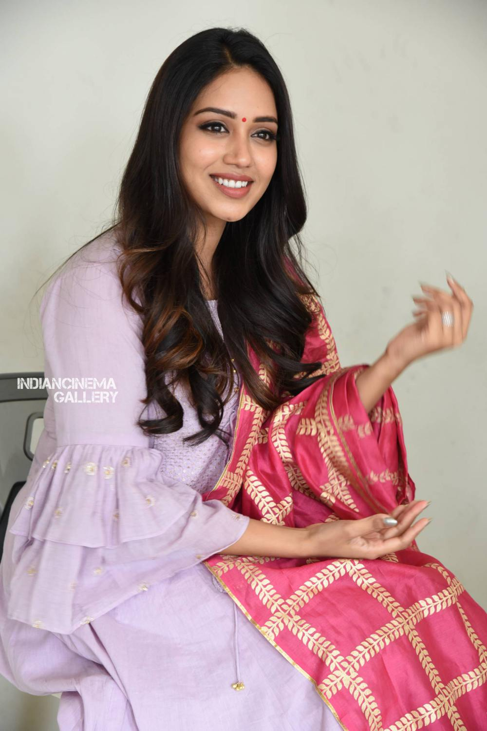 Nivetha Pethuraj at ChitraLahari Teaser Launch (18)