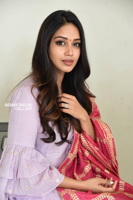 Nivetha Pethuraj at ChitraLahari Teaser Launch (20)