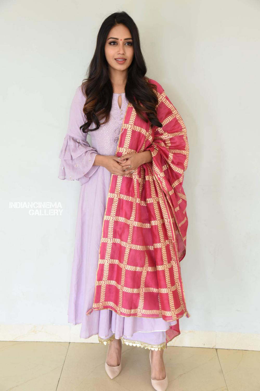Nivetha Pethuraj at ChitraLahari Teaser Launch (3)