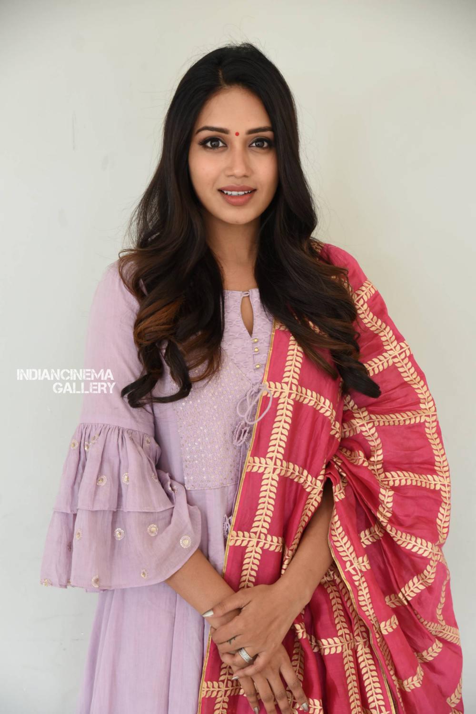 Nivetha Pethuraj at ChitraLahari Teaser Launch (4)
