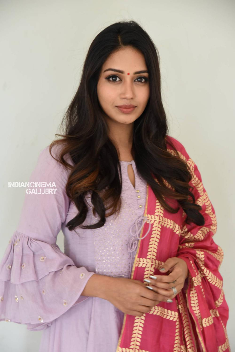 Nivetha Pethuraj at ChitraLahari Teaser Launch (6)