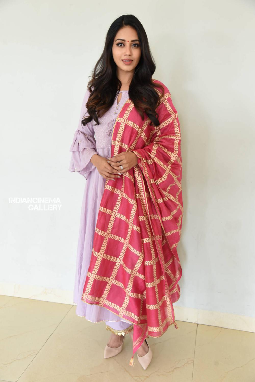 Nivetha Pethuraj at ChitraLahari Teaser Launch (7)