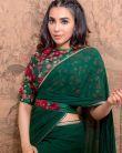Parvathy-Nair-in-green-saree-6