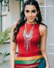 Parvathy-Nair-in-red-and-blue-dress-4
