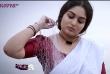 prayga martin in lungi and blouse stills for mathrubhumi kappa tv (2)