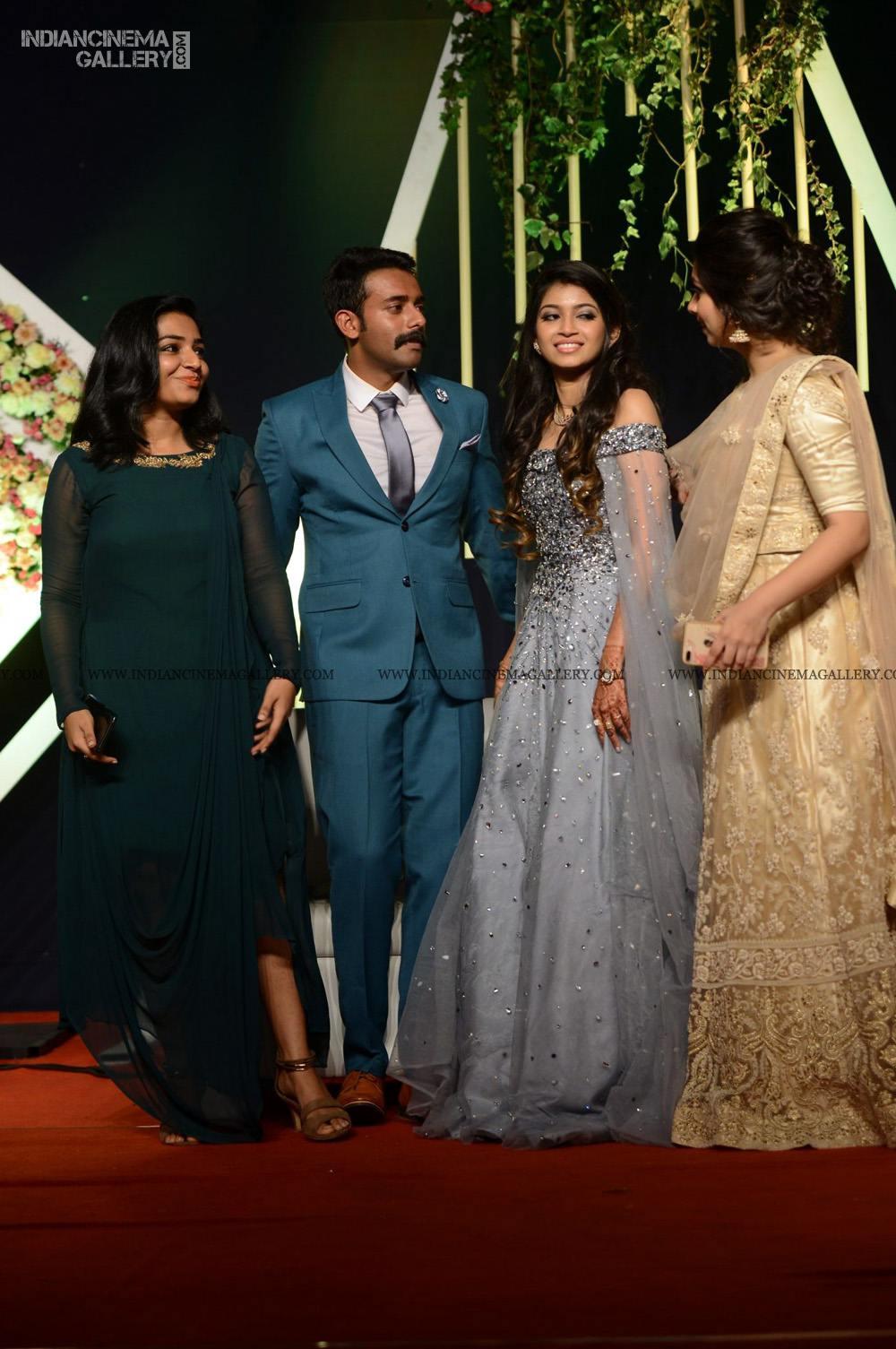 Rajisha Vijayan at Arjun Ashokan reception (1)