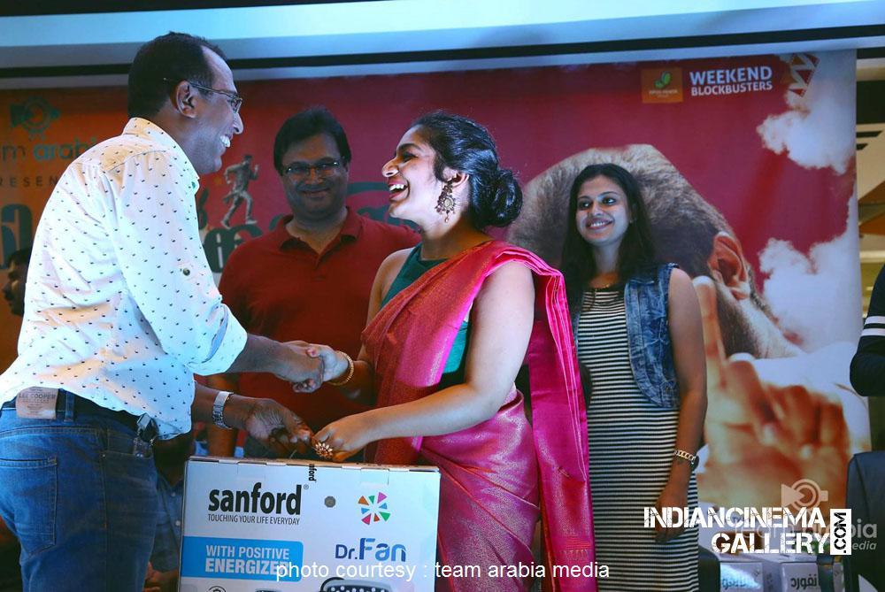 Rajisha Vijayan at oru cinemakkaran dubai promo event (12)