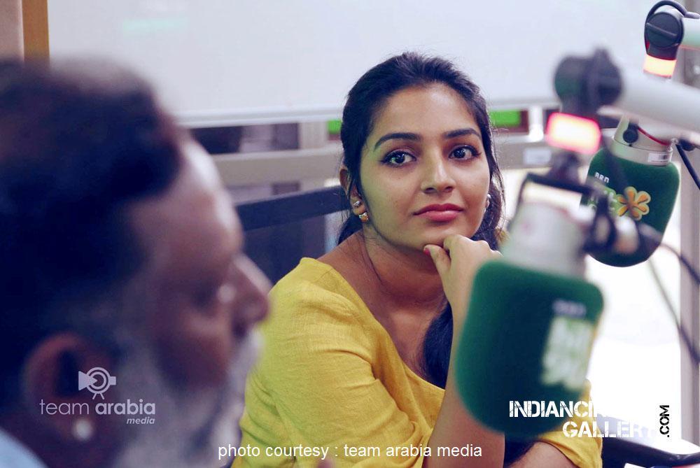 Rajisha Vijayan at oru cinemakkaran dubai promo event (13)