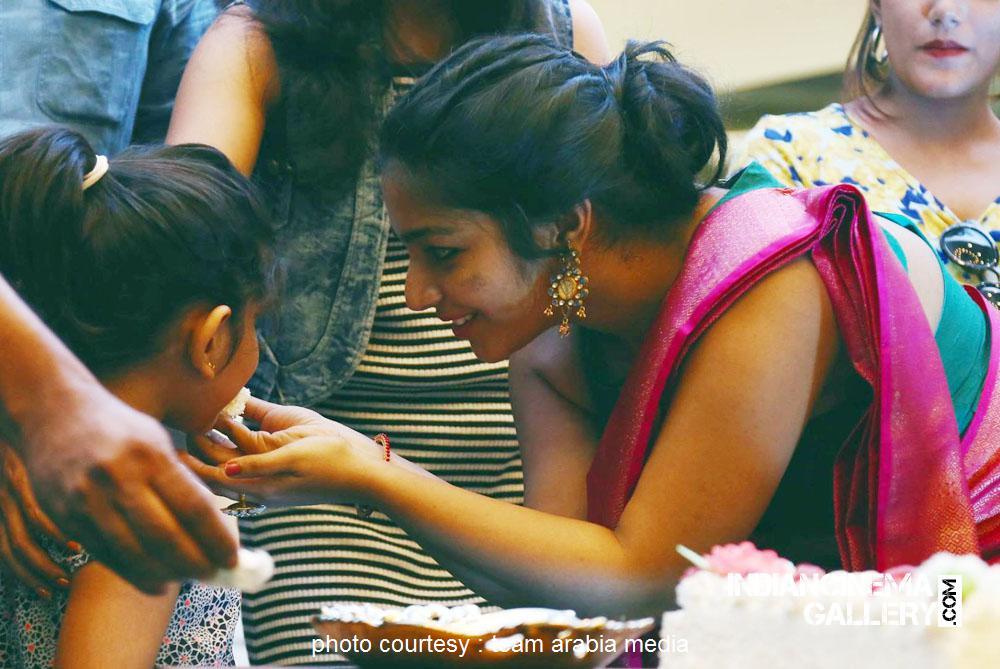 Rajisha Vijayan at oru cinemakkaran dubai promo event (15)