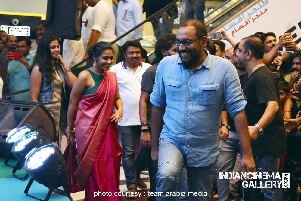 Rajisha Vijayan at oru cinemakkaran dubai promo event (17)