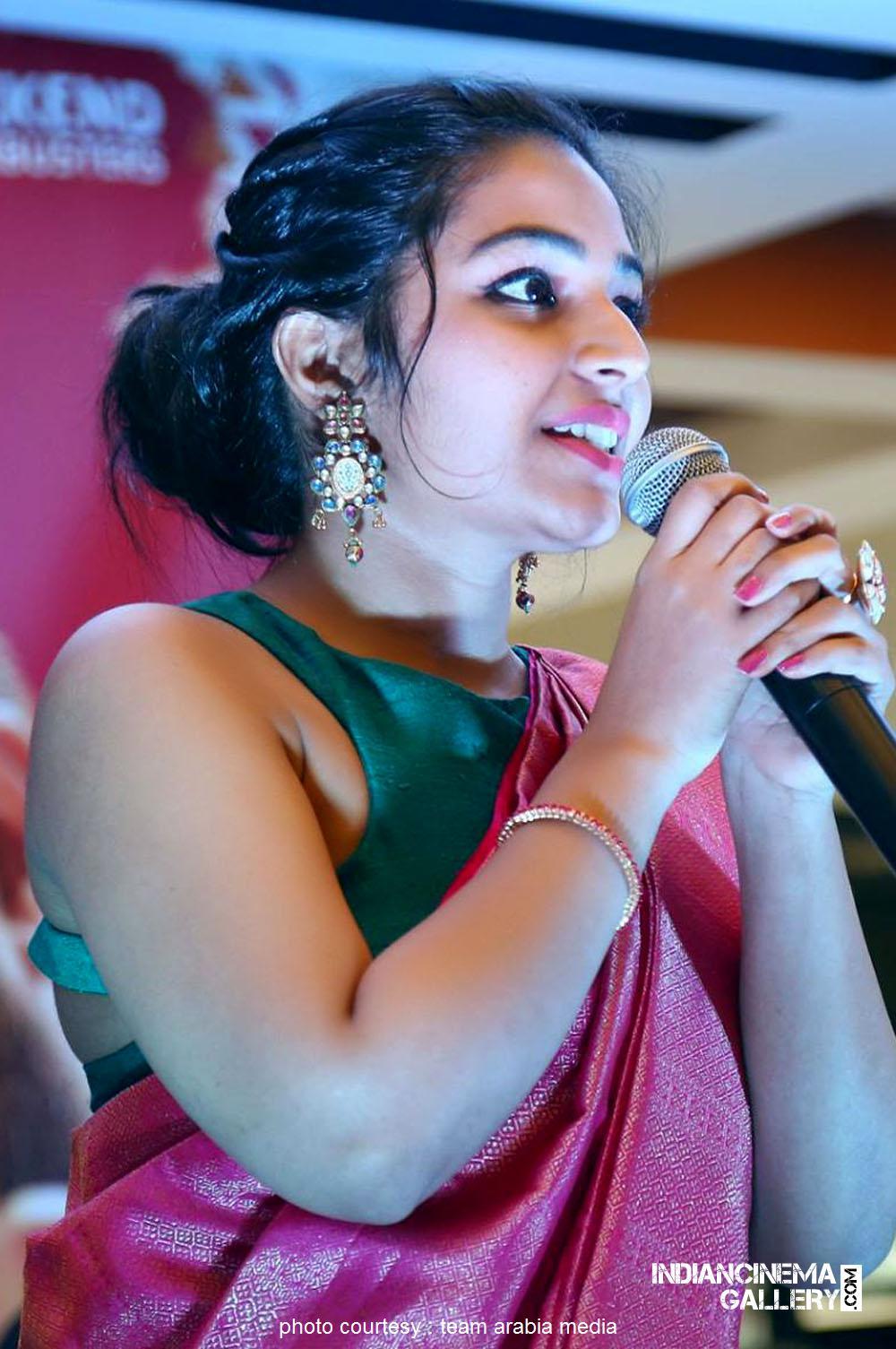 Rajisha Vijayan at oru cinemakkaran dubai promo event (19)